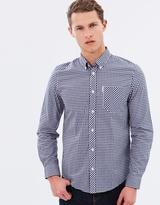 Ben Sherman Long-Sleeved Gingham Shirt