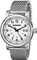 Wenger Women's 1021.103 Analog Display Swiss Quartz Silver Watch