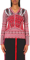 Altuzarra Rey abstract-print knitted jumper