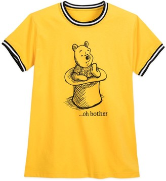 Disney Winnie the Pooh Striped Ringer T-Shirt for Women
