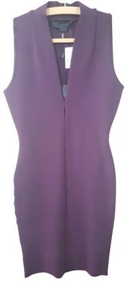 Alexander Wang Purple Synthetic Dresses