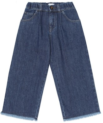 BRUNELLO CUCINELLI KIDS Wide-leg jeans