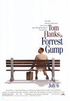 Pop Culture Graphics (27x40) Forrest Gump Tom Hanks on Bench Movie Poster