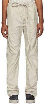 Fear Of God Off-White Logo Baggy Lounge Pants