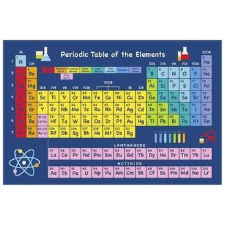 La Rug, Fun Rugs Table of Elements Area Rug