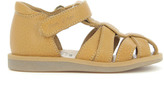 Pom D'Api Papy Poppy Velcro Leather Sandals
