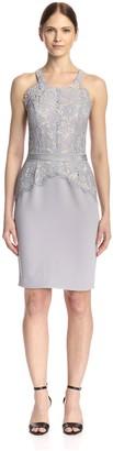 Aijek Women's Lace Pencil Dress
