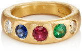 Malcolm Betts Women's Mixed-Gemstone Band