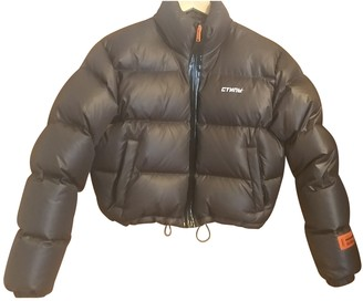 Heron Preston Grey Polyester Coats