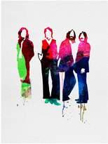 Art.com Beatles Watercolor Art Print By Lora Feldman - 30x41 cm