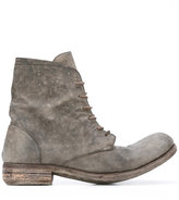 A Diciannoveventitre distressed lace-up boots
