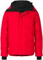 Canada Goose hooded padded jacket