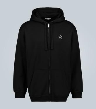 Valentino VLTNSTAR zip-up hooded sweatshirt