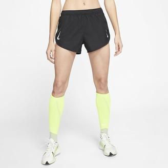 Nike Women's High-Cut Running Shorts Tempo