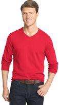 Izod Men's Fieldhouse Classic-Fit Wool-Blend V-Neck Sweater