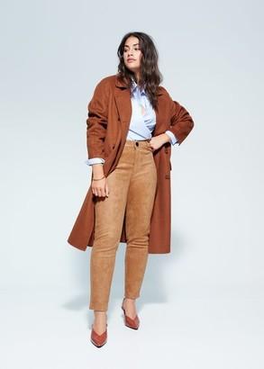 MANGO Textured leggings