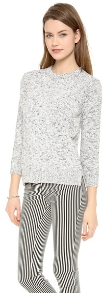 Theory Rainee Marled Sweater