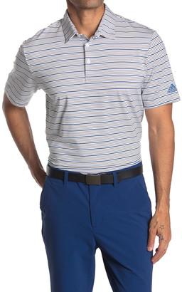 adidas Ultimate 365 Pencil Stripe Golf Polo