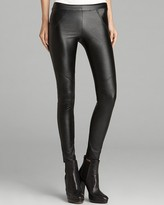Leggings - Faux Leather