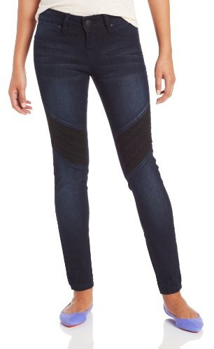 YMI Jeanswear Juniors Chevron Blocked Jegging Jean Legging