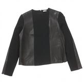 Celine Black Leather Top