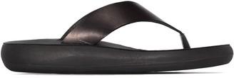 Ancient Greek Sandals T-bar leather flip flops
