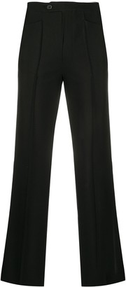 Maison Martin Margiela Pre Owned 1990s Pleated Fitted Trousers
