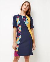 Jaeger Swirl Print Dress