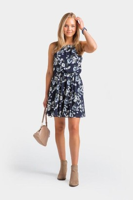 francesca's Nadell Flawless Dress - Navy