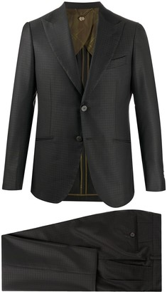 Maurizio Miri Two-Piece Textured Suit