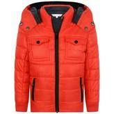 Little Marc Jacobs Little Marc JacobsBoys Red Puffer Coat