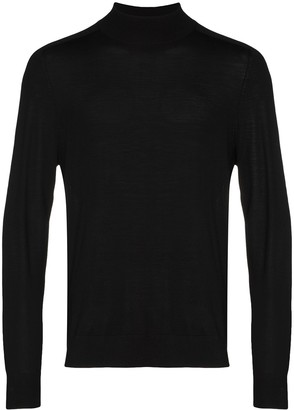 Theory High-Neck Wool Jumper