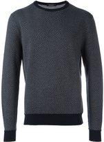 Ermenegildo Zegna contrast trim sweater