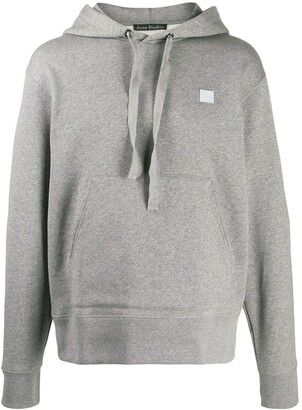 Acne Studios Logo Patch Detailed Hoodie