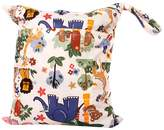 Generic Waterproof Baby Zipper Reusable Cloth Diaper Bag Snap Tote Colorful Jungle Animals Pattern