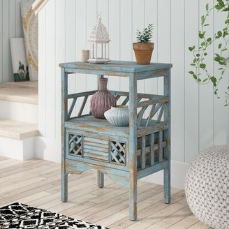Bungalow Rose Dodie End Table with Storage