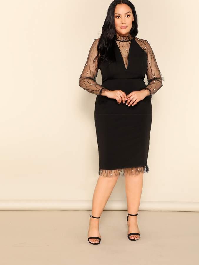 ce807af726192d Sheer Mesh Dresses - ShopStyle