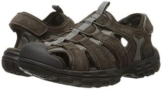 Skechers Relaxed Fit 360 Garver - Selmo (Brown) Men's Sandals