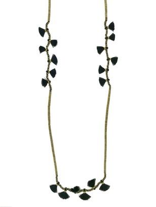 Slate & Salt Krisha Tassel Necklace