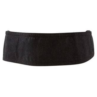 Saint Laurent Anthracite Cloth Belts