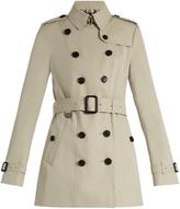 Burberry Sandringham short-length gabardine trench coat