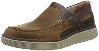 Clarks Men's Un Abode Free Loafers, Brown (Light Tan Leather