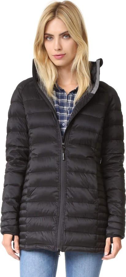 d38ef70457d Canada Goose Black Women's Coats - ShopStyle