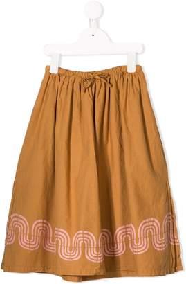 Bobo Choses Printed Hem Skirt