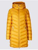 Per Una Down & Feather Padded Jacket with StormwearTM