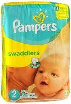 Pampers Swaddlers New Baby Diapers Size 2 - 4 packs of 32, Pack of 4