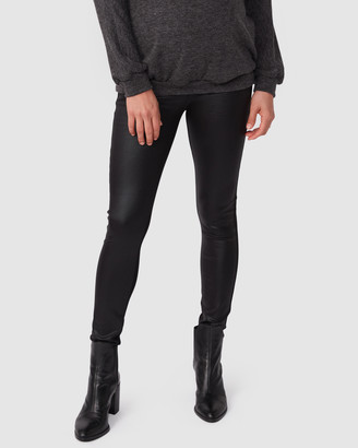 Pea In A Pod Maternity Renee Faux Leather Ponte Leggings