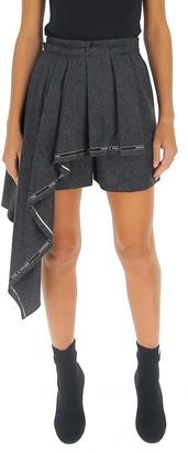 Alexander McQueen Draped Shorts