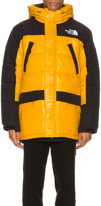The North Face Insulated Parka in Summit Gold & TNF Black | FWRD
