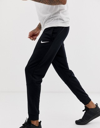 Nike Training Dri-Fit tapered joggers in black